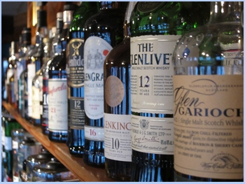Whisky-Bottles